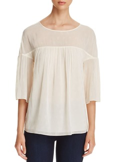 MICHAEL Michael Kors Bell-Sleeve Top
