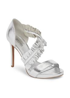 MICHAEL Michael Kors Bella Ruffle Sandal (Women)