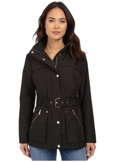MICHAEL Michael Kors Belted Snap Front Anorak M322001R