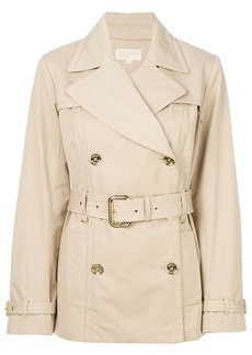 Michael Michael Kors belted trench coat - Nude & Neutrals