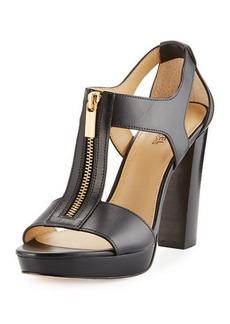 MICHAEL Michael Kors Berkley Leather Zip Sandals