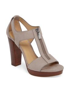 MICHAEL Michael Kors Berkley Zip T-Strap Sandal (Women)