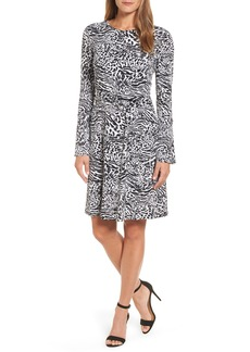 MICHAEL Michael Kors Big Cat A-Line Dress