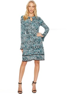 MICHAEL Michael Kors Big Cat Border Dress