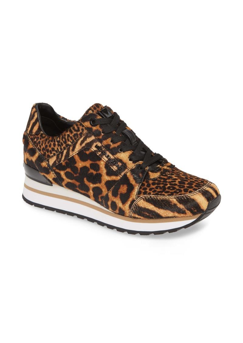 MICHAEL Michael Kors Billie Perforated Genuine Calf Hair Sneaker (Women)