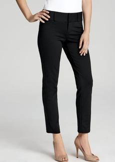 MICHAEL Michael Kors Black Straight Leg Ankle Pants