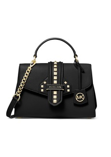 MICHAEL Michael Kors Bleecker Small Studded Satchel