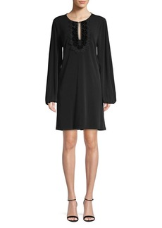 MICHAEL Michael Kors Blouson Sleeve Shift Dress