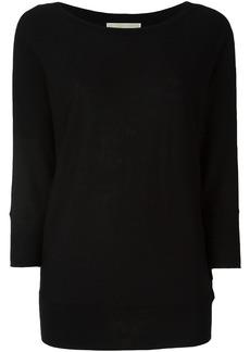 Michael Michael Kors boat neck jumper - Black