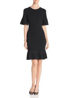 MICHAEL Michael Kors Bodycon Ribbed Knit Dress