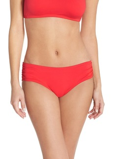 MICHAEL Michael Kors 'Bohemian Rhapsody' Shirred Bikini Bottoms