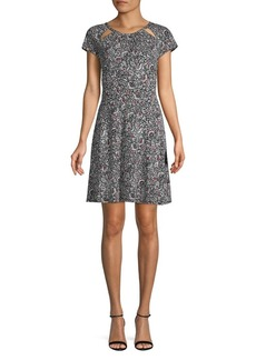 MICHAEL Michael Kors Boho Block-Print Dress