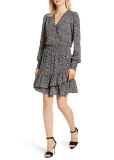 MICHAEL Michael Kors Boho Block Ruffled Dress