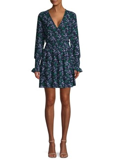MICHAEL Michael Kors Boho Tiered Blouson Mini Dress