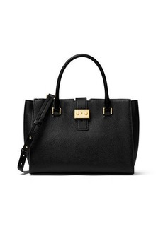 MICHAEL Michael Kors Bond Medium Leather Satchel Bag