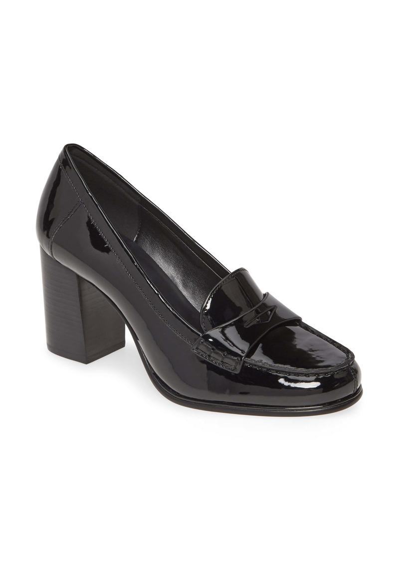 MICHAEL Michael Kors Buchanan Block Heel Loafer (Women)