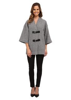 MICHAEL Michael Kors Buckle Sweater Coat