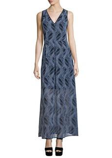 MICHAEL Michael Kors Burrel A-Line Maxi Dress
