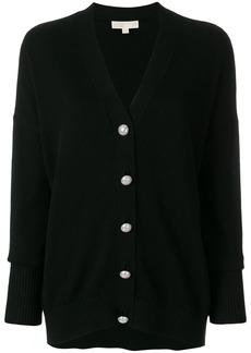 Michael Michael Kors button-embellished cardigan - Black