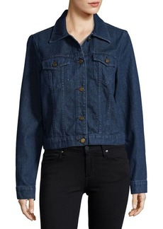 MICHAEL MICHAEL KORS Button-Front Denim Jacket