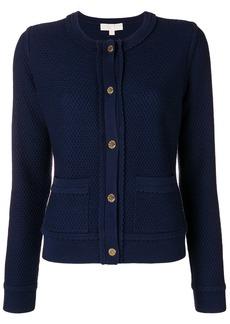 Michael Michael Kors button-up cardigan - Blue