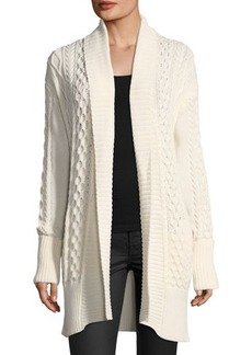 MICHAEL Michael Kors Cable-Knit Duster Cardigan