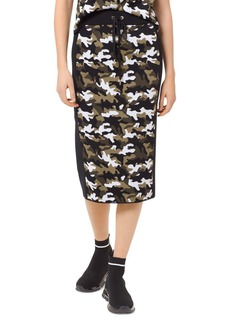 MICHAEL Michael Kors Camo Pencil Skirt