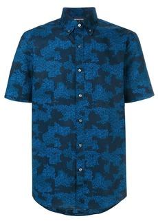 Michael Michael Kors camouflage-print button-down shirt - Blue