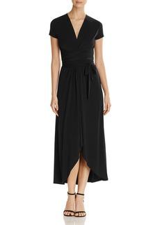 MICHAEL Michael Kors Cap Sleeve Maxi Wrap Dress
