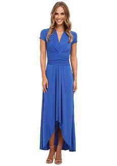 MICHAEL Michael Kors Capsleeve Maxi Wrap Dress