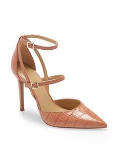MICHAEL Michael Kors Cardi Strappy Pointed Toe Pump (Women)