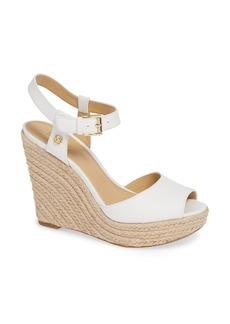 MICHAEL Michael Kors Carlyn Espadrille Wedge Sandal (Women)