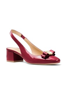 MICHAEL MICHAEL KORS Caroline Patent Leather Slingback Pumps