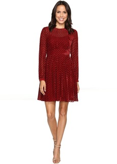 MICHAEL Michael Kors Carroll Dot Velvet Dress