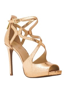 "MICHAEL Michael Kors ""Catia"" Metallic Snake Dress Pumps"