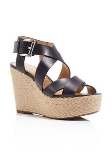 MICHAEL Michael Kors Celia Strappy Espadrille Platform Wedge Sandals