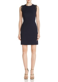 MICHAEL Michael Kors Chain-Accent A-Line Dress