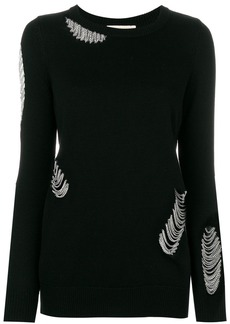 Michael Michael Kors chain-embellished sweater - Black