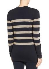 MICHAEL Michael Kors Chain Lace-Up Tunic Sweater