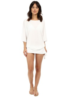 MICHAEL Michael Kors Chain Solids Side Tie Cover-Up