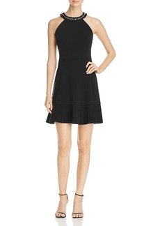 Michael Michael Kors Chain Trim Dress