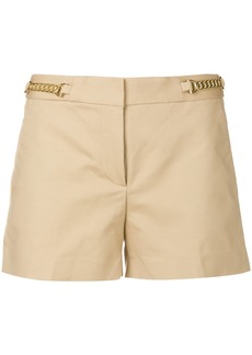 Michael Michael Kors chain trim tailored shorts - Nude & Neutrals