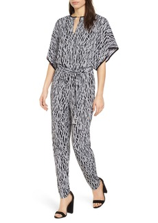 MICHAEL Michael Kors Chained Keyhole Neck Jumpsuit