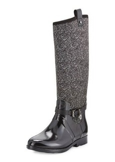 MICHAEL Michael Kors Charm Stretch Tall Rain Boot