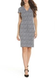 MICHAEL Michael Kors Check Jacquard dress