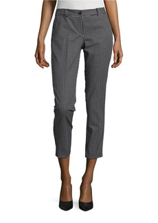MICHAEL MICHAEL KORS Checked Cropped Pants