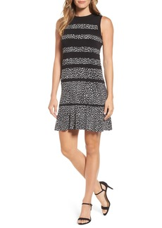 MICHAEL Michael Kors Cheetah Panel Dress