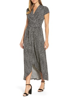 MICHAEL Michael Kors Cheetah Print Maxi Dress