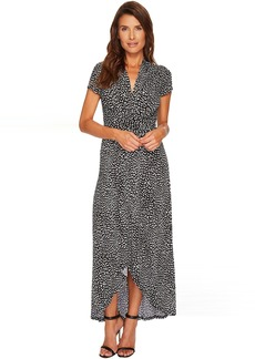 MICHAEL Michael Kors Cheetah Wrap Dress