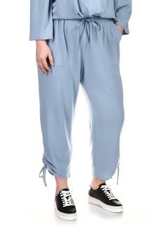 MICHAEL Michael Kors Cinched Cozy Joggers (Plus Size)
